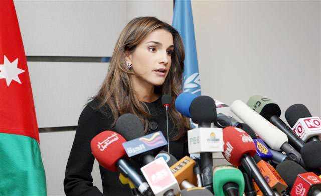 الملكة رانيا: أطفال غزة وأمهاتهم وآباؤهم ليسوا خسائر ضمنية مقبولة!
