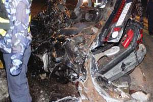 4 وفيات في حادث تصادم وإطلاق نار أثناء مطاردة بالسيارات