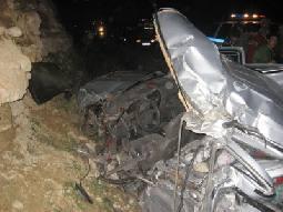 وفاة و25 إصابة بحادث على طريق عجلون جرش
