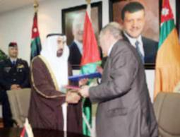 توقيع مذكرة تفاهم أمني بين الأردن والإمارات