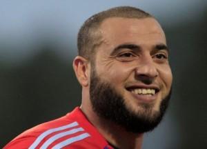 عامر شفيع أول لا عب أردني يتخطى 100 مباراة دولية