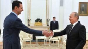 بوتين يعلن الخبر الصدمة والمفاجئة : الاسد ابلغني قبوله بالحوار مع المعارضة المسلحة!!