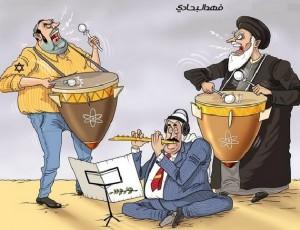 متاهة العربان بين اسرائيل و ايران ؟!