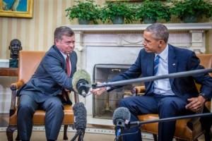 بالصور...أوباما يؤكد للملك دعم الأردن في أزمة اللاجئين وجلالته يؤكد أن العالم في وضع أفضل الآن إزاء تحديات مواجهة داعش