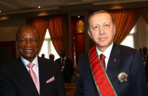 ما هي المفأجاة التي قدمها أردوغان لرئيس غينيا بمناسبة عيد ميلاده !
