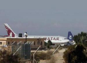 إطلاق اسم غزة على طائرة قطرية