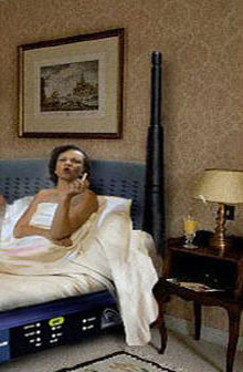 مذكرات كوندليزا رايس ثمنها 2.5 مليون دولار