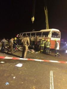 الفا: وفاة 6 معتمرين وحافلاتنا سليمة