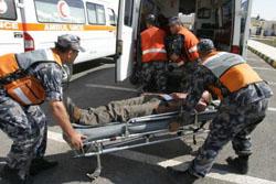 إصابة 4 مواطنين اثر حادث تدهور في عمان