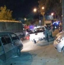 5 إصابات بحريق حافلة رحلة مدرسية - صورة