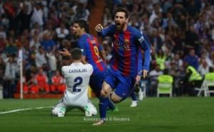 ميسي يصعق ريال مدريد في الوقت القاتل (صور)
