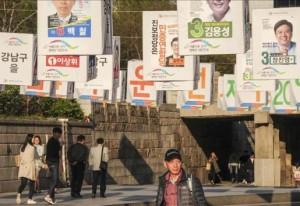 أردنيون يراقبون انتخابات كوريا الجنوبية