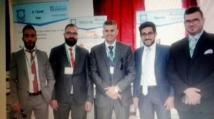 طلبة جامعة عمان الأهلية يشاركون في فعاليات الندوة السنوية لمشاريع تكنولوجيا المعلومات