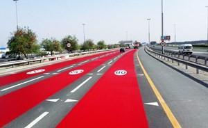 ماذا فعلت دبي لتنبيه السائقين على تغيير