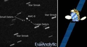 بالفيديو .. قمر اصطناعي وزنه ٤ أطنان خرج عن السيطرة وقد يحدث كارثة