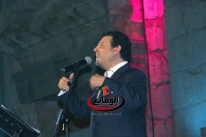 ...هاني شاكر يحيي حفله في جرش
