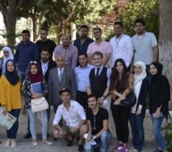 رئيس جامعة عمان الأهلية يلتقي الطلبة السوريين