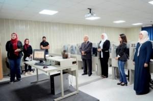 افتتاح مختبر اللغات الأجنبية ومركزي الإرشاد والتربية الخاصة في جامعة عمان الاهلية