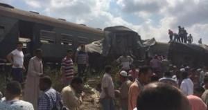 36 قتيلا و أكثر من 100 جريح في حادث تصادم القطارين بمنطقة خورشيد.