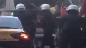 بالفيديو...لحظة القبض على مشتبه به في تنفيذ هجوم برشلونة