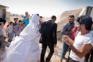 3 الاف سورية تزوجن في الأردن عام 2017