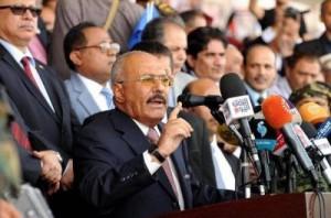 صالح يهاجم الحوثيين بعد اتهامات