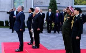 مراسم استقبال رسمية للملك وولي العهد في كندا