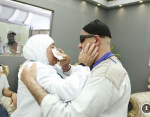 الحج يجمع بين شقيقين بعد فراق دام 15 عاما