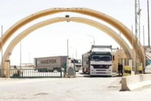 3 مشاكل لتصدير البضائع الأردنية إلى العراق عبر معبر طريبيل