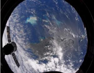 بالصور...رائد فضاء يلتقط صورا لإعصاري إرما وخوسيه من خارج الأرض