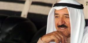 بالصور...ظهور نادر لأمير الكويت بدون الزي الخليجي في الأمم المتحدة
