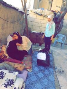 طلبة عمان الأهلية ينظمون حملة