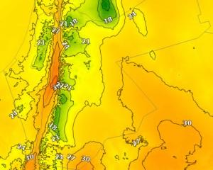 كتلة هوائية باردة تجتاح المملكة الإثنين