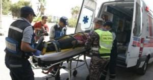 وفاتان و4 اصابات بحادث تدهور في وسط البلد
