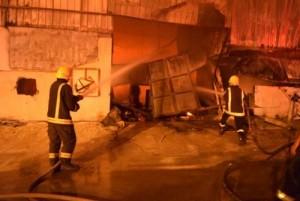 وفاة عشرة اشخاص في حريق بالرياض