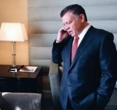 الملك والسيسي يبحثان باتصال هاتفي تطورات المصالحة الفلسطينية