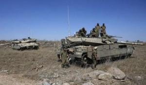غارة اسرائيلية في سوريا بعد سقوط قذيفة على الجولان