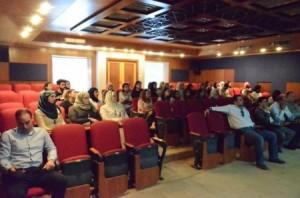 محاضرة في جامعة عمان الأهلية بعنوان: تطوير مقياس لفحص السمع في الضجيج