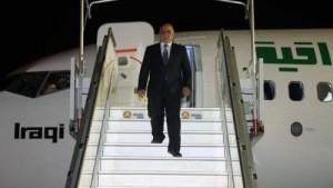 رئيس الوزراء العراقي يصل إلى عمان