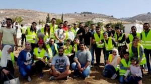مشاركة جامعة عمان الأهلية في مبادرة زراعة