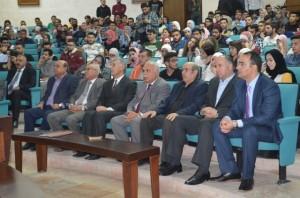 حفل استقبال للطلبة المستجدين في جامعة عمان الأهلية