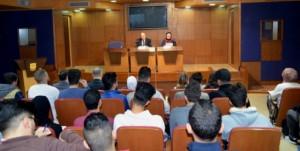 د. سامي المجالي يحاضر في جامعة عمان الأهلية حول الشباب والتطرف