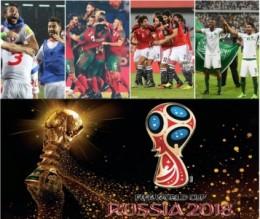 لأول مرة في التاريخ ... 4 دول عربية تذهب مرة واحدة لنهائيات كأس العالم