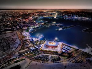 بالصور ..قطر ترفع الستار عن تصميم سابع ملاعب مونديال 2022
