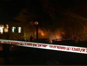 اصابات بانفجار ضخم في تل أبيب