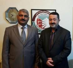 جامعة عمان الاهلية تهنىء المستشار الثقافي العراقي الجديد