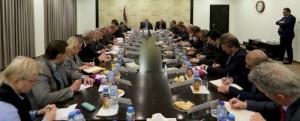 الحمد الله يطلع قناصل وسفراء وممثلي الاتحاد الأوروبي على آخر التطورات السياسية