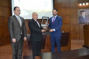 محاضرة للدكتور نوح القضاة في جامعة عمان الأهلية
