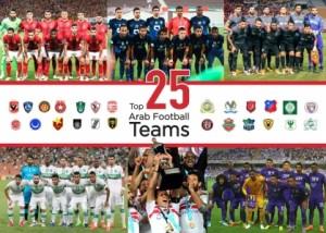 'فوربس' تكشف عن أقوى 25 ناديا عربيا في 2017.. بينهم نادي أردني!