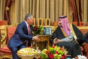 خادم الحرمين للملك: أمن الأردن من أمن السعودية (تحديث)